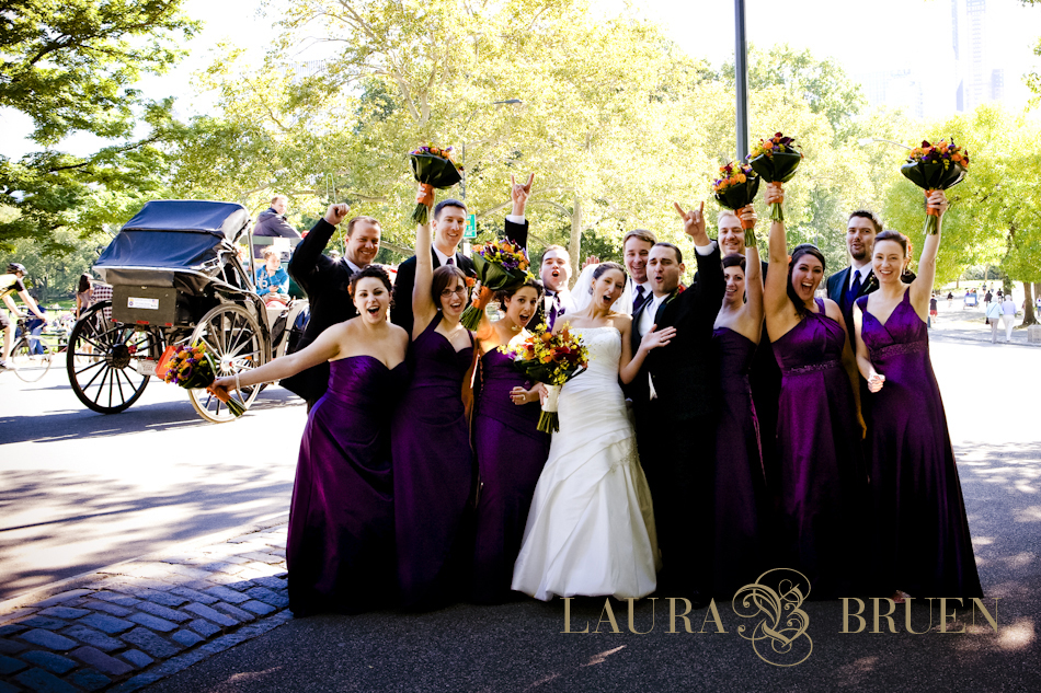 NYC Wedding, Central Park, Laura Bruen, Photographer
