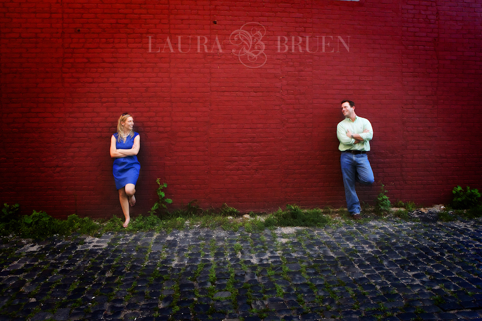 Hoboken NJ Engagement - Laura Bruen, NYC, NJ Photographer
