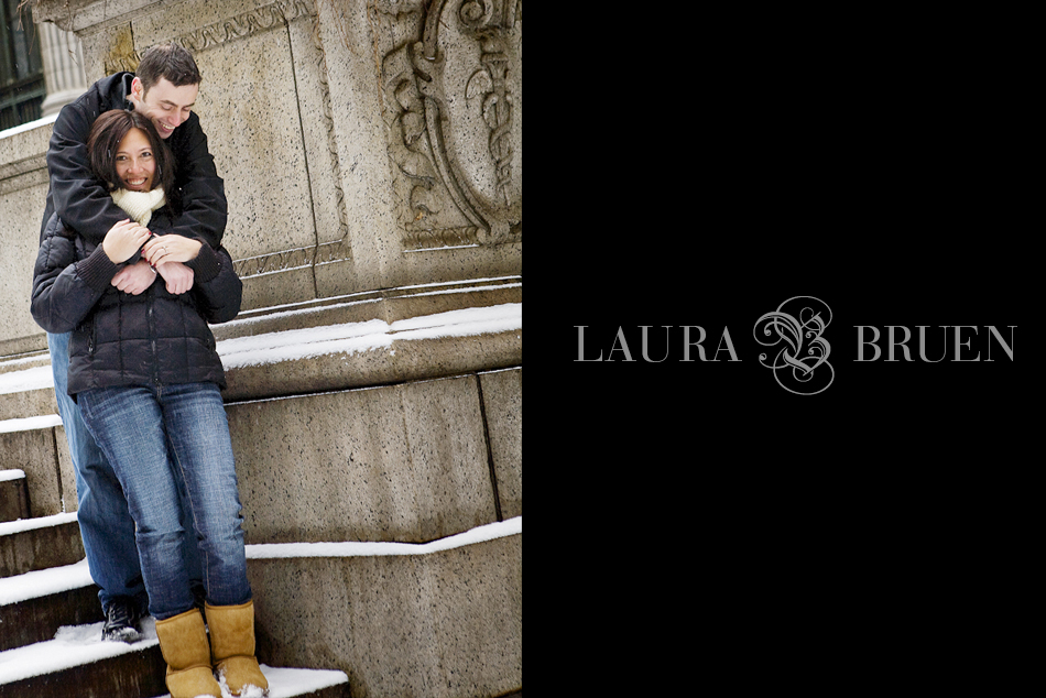 NYC Engagement Photography - Laura Bruen, Photographer NY