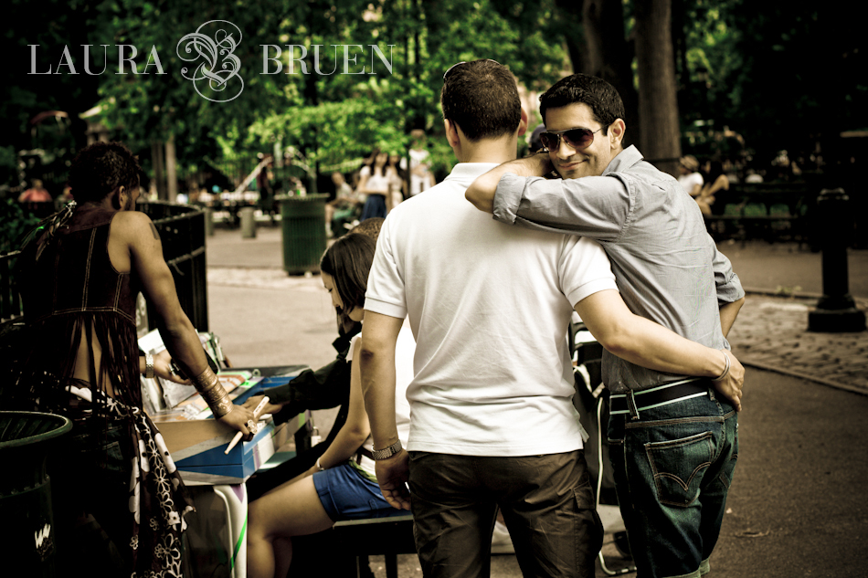 Surprise Gay Engagement in New York, NY - Laura Bruen, Photographer, NJ NYC
