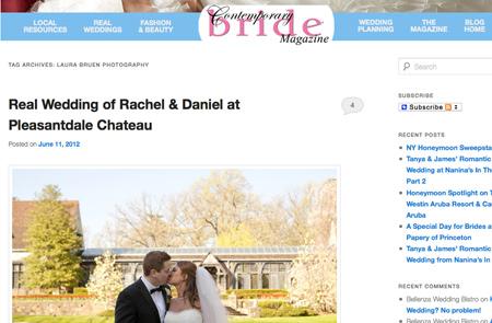 Contemporary Bride Magazine / Laura Bruen, Photographer