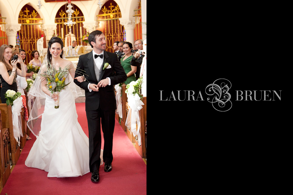 Sailor Snug Harbor Wedding - Staten Island, NY - Laura Bruen, Photographer - Staten Island, New York - Sacred Heart Church