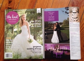 Published in New Jersey Bride Magazine
